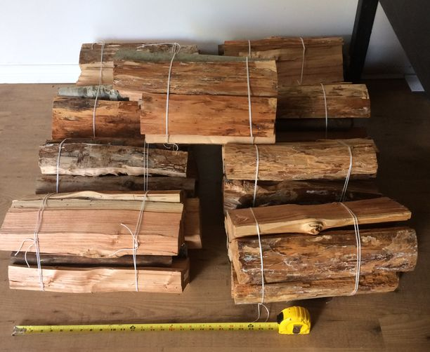 Currently available 9  firewood bundles for sale in Metro Vancouver