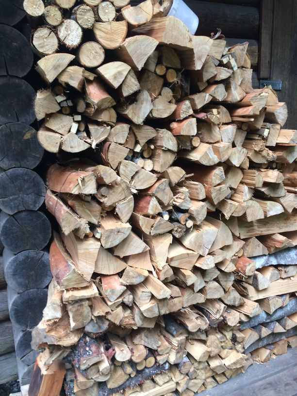 Another stack of firewood in Fraser Valley