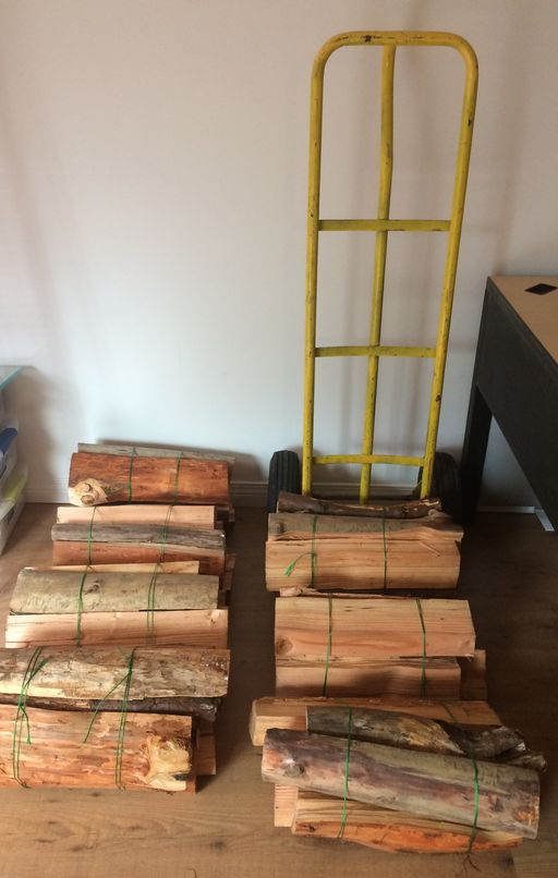 Currently available 7 firewood bundles for sale in Metro Vancouver