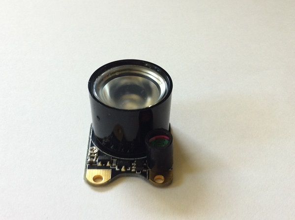 Infrared LED for mole activity recording gadget