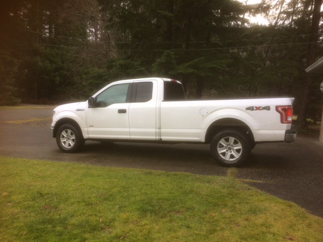 Handyman long bed truck for trash removal in Hope, BC